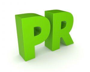 PR = Public Relations