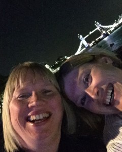 Obligatory selfie! It would not be a PR bash without one - me (on the left)and Diversity & Inclusive Comms judge, Catherine Grinyer of Big Voice Communications