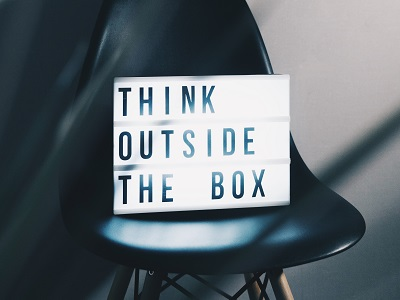 Think outside the box - Nikita Kachanovsky - Unsplash